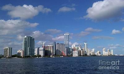 Photograph - Miami Florida by Gary Wonning