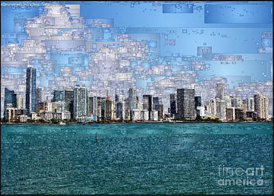 Digital Art - Miami, Florida by Rafael Salazar