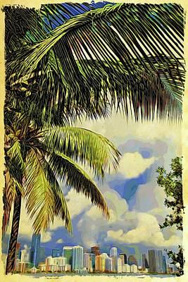 Photograph - Miami Gorgeous by Alice Gipson