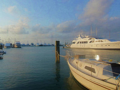 Photograph - Miami Harbor by JAMART Photography