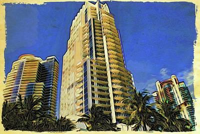 Photograph - Miami High by Alice Gipson