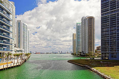 Photograph - Miami Inlet 4076 by Rudy Umans