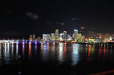 Photograph - Miami by Juan Trujillo