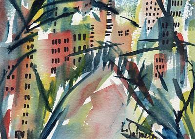 Painting - Miami by Laurie Salmela
