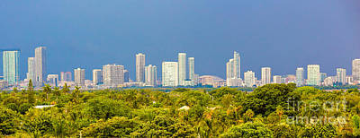 Photograph - Miami Le City by Rene Triay Photography