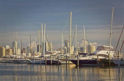 Photograph - Miami Marina by Rudy Umans