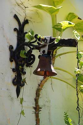 Brass Leafs Digital Art - Miami Monastery Bell by Rob Hans