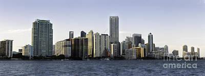 Photograph - Miami Panoramic Skyline 2016  by Eyzen M Kim