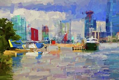 Photograph - Miami Seaplane by Alice Gipson