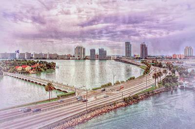 Photograph - Miami Sights by John M Bailey