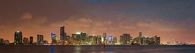 Photograph - Miami Skyline by Cliff Wassmann