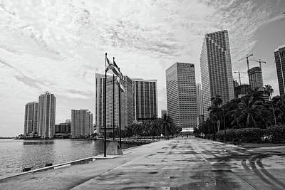 Miami Skyline Photograph - Miami Skyline by George Martinez