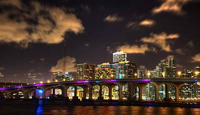 Miami Skyline Photograph - Miami Skyline by Shawn Everhart