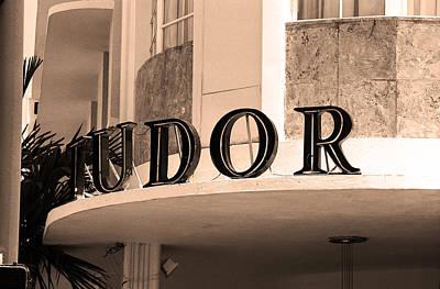 Brown Tones Photograph - Miami South Beach - Art Deco 4 by Frank Romeo