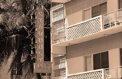 Brown Tones Photograph - Miami South Beach - Art Deco 6 by Frank Romeo
