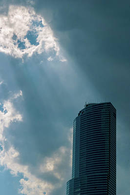 Photograph - Miami Sunburst by Steven Richman