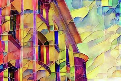 Digital Art - Miami by Susan Maxwell Schmidt