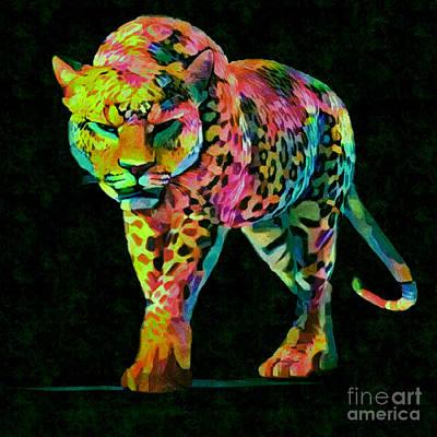 Andywarhol Painting - Miau Part Pop Art Part 3 by Felix Von Altersheim