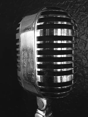 Close-up Digital Art - Mic Check by Kendall Tabor