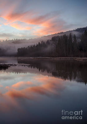 Photograph - Mica Mist Reflections by Idaho Scenic Images Linda Lantzy