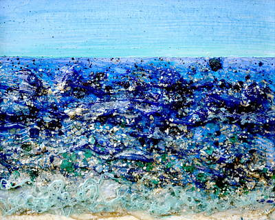 Painting - Mica Shoreline by Regina Valluzzi