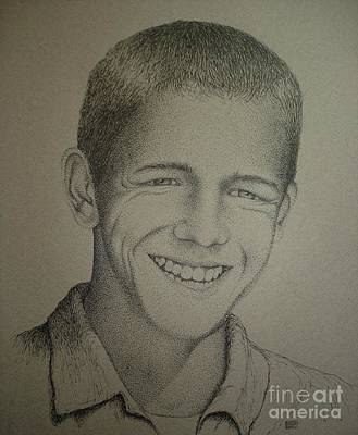 Drawing - Micah by Lisa Bliss Rush