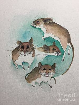 Painting - Mice by Tonya Henderson