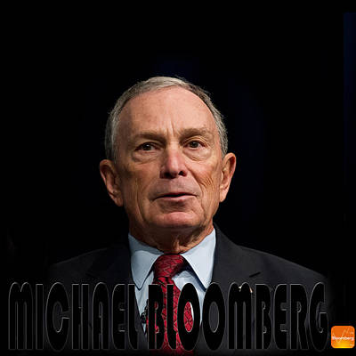 Photograph - Michael Bloomberg 1 by Andrew Fare