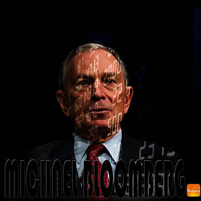 Photograph - Michael Bloomberg 2 by Andrew Fare