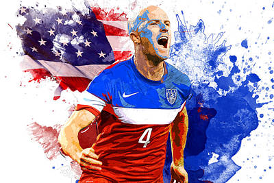 Champion Digital Art - Michael Bradley by Semih Yurdabak