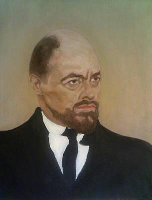 Painting - Michael Bryant As Lenin by Peter Gartner