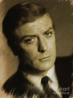Musician Royalty-Free and Rights-Managed Images - Michael Caine by Mary Bassett