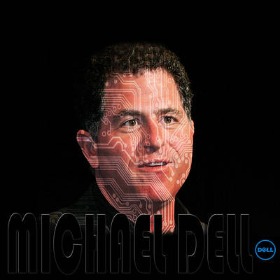 Photograph - Michael Dell 2 by Andrew Fare