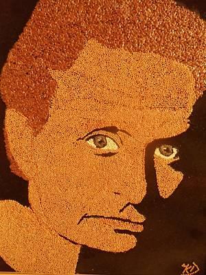 Michael Douglas Art Print by Kovats Daniela