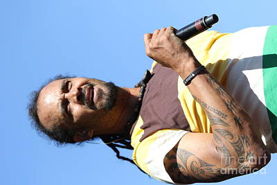 Photograph - Musician Michael Franti  by Concert Photos