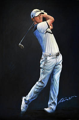 Painting - Michael Hoey Portrait by Mark Robinson