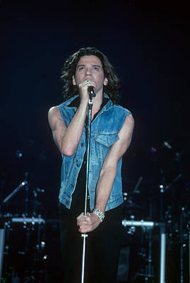 Michael Hutchence Of Inxs Art Print by Rich Fuscia