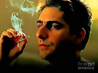 Michael Imperioli As Chris Art Print by Pd