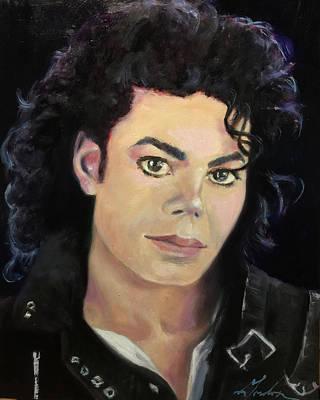 Michael In The 80s Original by Brenda Gordon