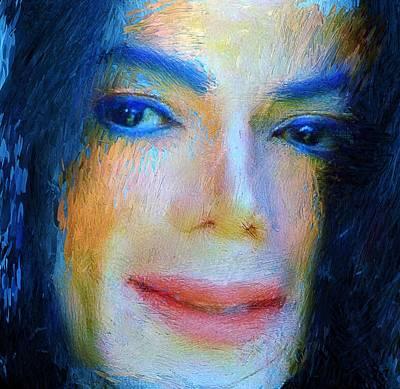 Rural Digital Art - Michael Jackson 04 by Yury Malkov