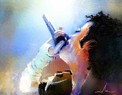 Michael Jackson Painting - Michael Jackson 06 by Miki De Goodaboom