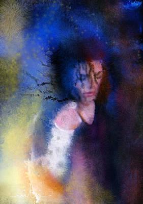 Michael Jackson Digital Art - Michael Jackson 16 by Miki De Goodaboom