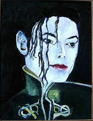 Michael Jackson 2 Art Print by Udi Peled