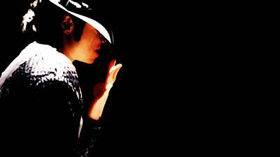 Overdose Digital Art - Michael Jackson 4g by Brian Reaves