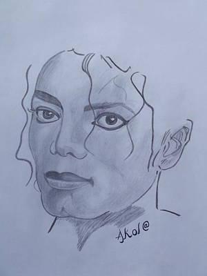 Michael Jackson Art Print by Akol Jayjay