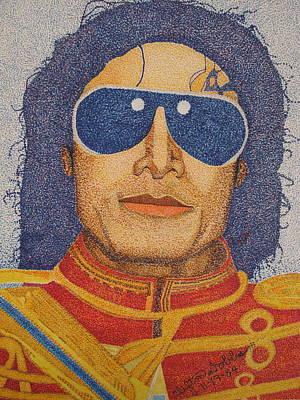 Michael Jackson Print by Clifton Dobbs