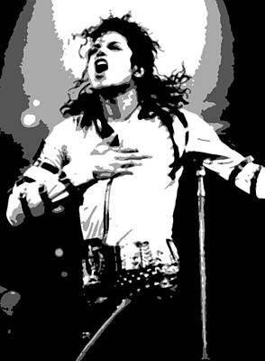 Jacko Painting - Michael Jackson by Dan Carman