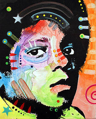Icon Mixed Media - Michael Jackson by Dean Russo