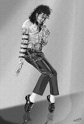 Michael Jackson Digital Art - Michael Jackson by Elizabeth Fortune