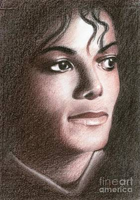 Drawing - Michael Jackson #fourteen by Eliza Lo